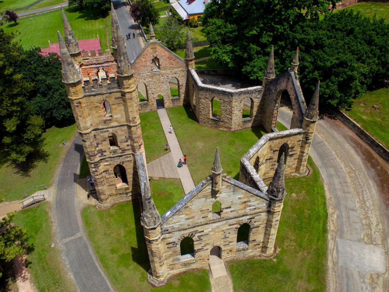 Port Arthur Historic Site - aerial