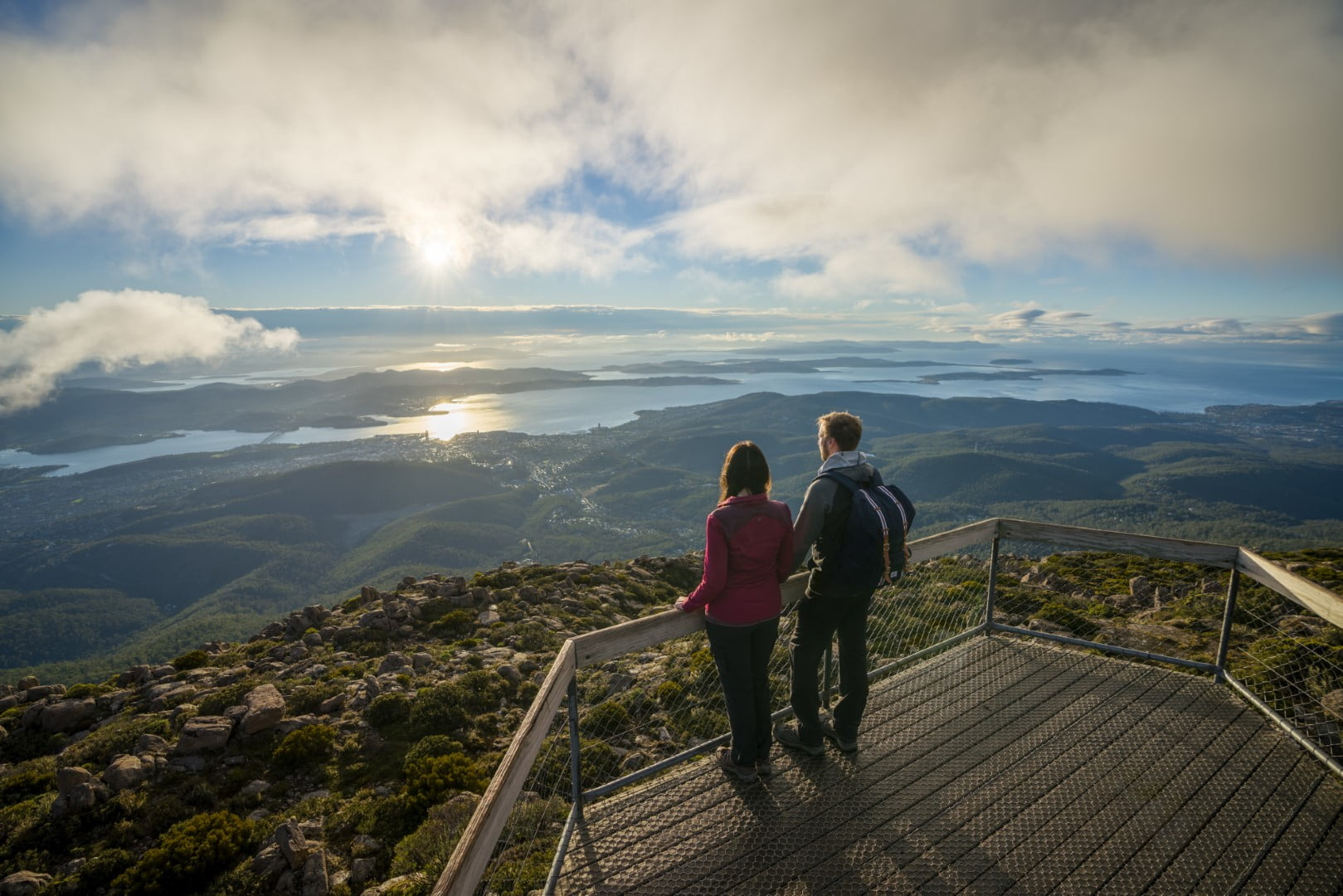 Summit of kunanyi/Mt Wellington